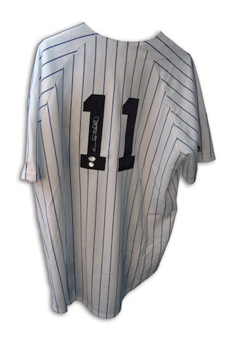 Autographed Gary Sheffield New York Yankees Gray Majestic Jersey PSM-Powers Sports Memorabilia