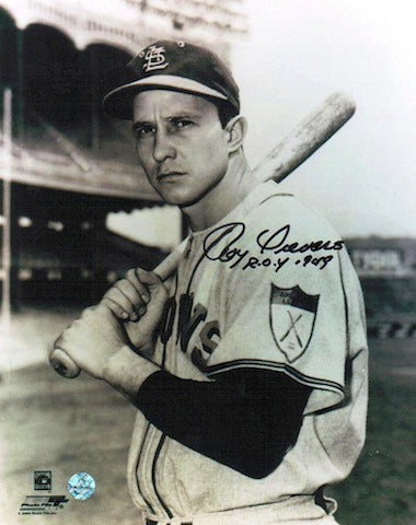 "Autographed Roy Sievers St. Louis Cardinals 8x10 Photo Inscribed ""ROY 1949"" PSM-Powers Sports Memorabilia"