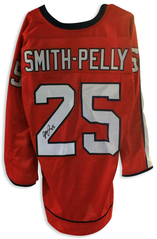 Devante Smith-Pelly Washington Capitals Autographed Red Jersey PSM