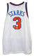 John Starks New York Knicks Autographed White Throwback Jersey PSM-Powers Sports Memorabilia