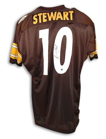 Autographed Kordell Stewart Pittsburgh Steelers Throwback Jersey PSM-Powers Sports Memorabilia