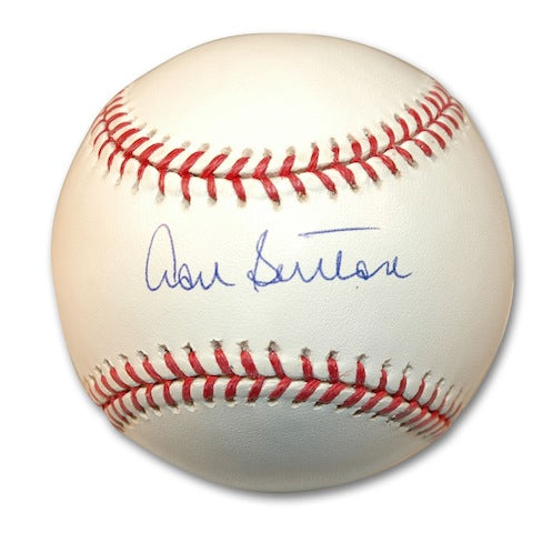 Autographed Don Sutton Baseball PSM-Powers Sports Memorabilia