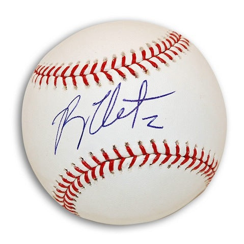 Autographed Ryan Theriot MLB Baseball PSM-Powers Sports Memorabilia