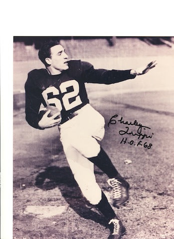 "Autographed Charley Trippi Chicago Cardinals 8x10 Photo Inscribed ""HOF 68"" PSM-Powers Sports Memorabilia"