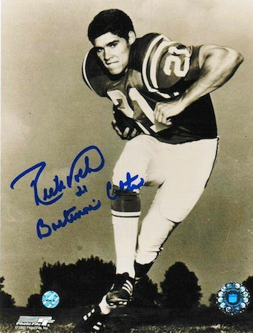 "Autographed Rick Volk Baltimore Colts 8x10 Photo Inscribed ""Baltimore Colts"" PSM-Powers Sports Memorabilia"