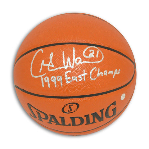 "Charlie Ward Autographed Indoor/Outdoor Basketball Inscribed ""1999 East Champs"" PSM-Powers Sports Memorabilia"