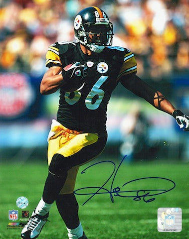 Autographed Hines Ward Pittsburgh Steelers 8x10 Photo PSM-Powers Sports Memorabilia