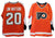 "Jim Watson Philadelphia Flyers Autographed Orange Jersey Inscribed ""2X SC Champs"" PSM-Powers Sports Memorabilia"