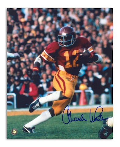 Autographed Charles White USC 8x10 Photo PSM-Powers Sports Memorabilia