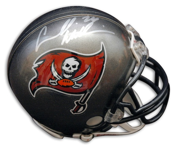 "Autographed Carnell ""Cadillac"" Williams Buccaneers Mini Helmet PSM-Powers Sports Memorabilia"