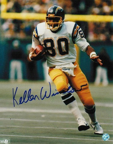 Autographed Kellen Winslow San Diego Chargers 8x10 Photo PSM-Powers Sports Memorabilia