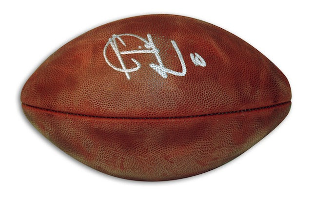 Autographed Vince Young NFL Football PSM-Powers Sports Memorabilia