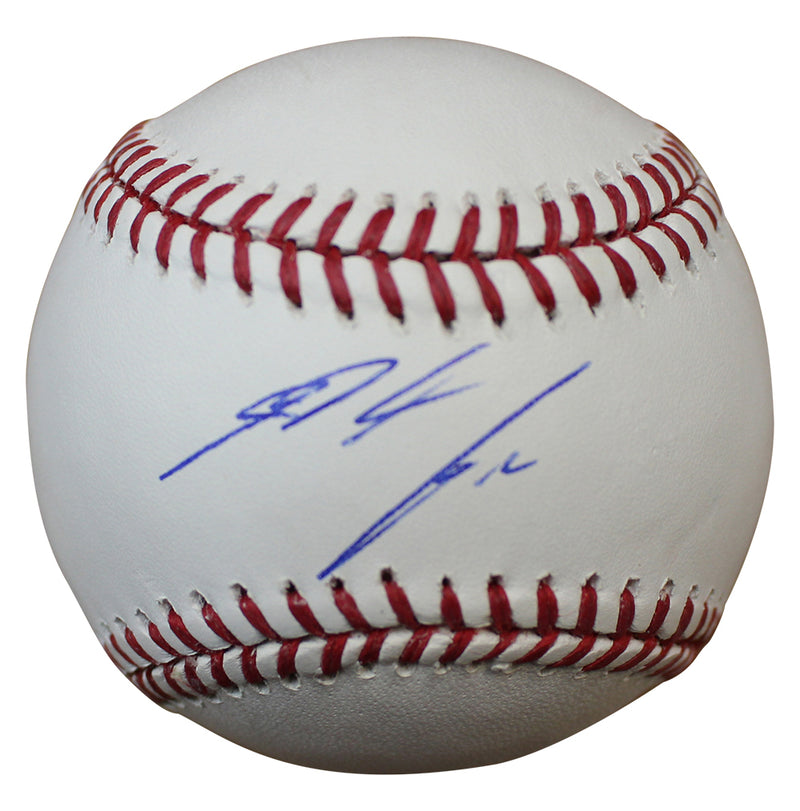 Nolan Arenado Autographed Colorado Rockies OML Baseball PSM-Powers Sports Memorabilia