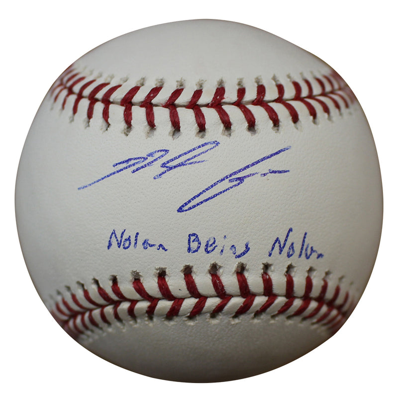 Nolan Arenado Autographed Colorado Rockies OML Baseball Being Nolan FAN PSM-Powers Sports Memorabilia