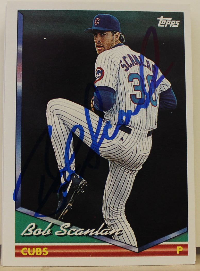 Bob Scanlan Chicago Cubs Autographed 1994 Topps Card #451. This item comes with a certificate of authenticity from Autograph-Sports. PSM-Powers Sports Memorabilia
