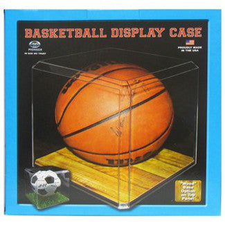 Basketball - Acrylic Clear Display Case PSM-Powers Sports Memorabilia