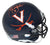 Tiki Barber Autographed/Signed Virginia Cavaliers Blue Mini Helmet JSA PSM-Powers Sports Memorabilia