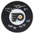 Bill Barber Signed Philadelphia Flyers Logo Hockey Puck w/HOF 90, 74-75 Cup PSM-Powers Sports Memorabilia