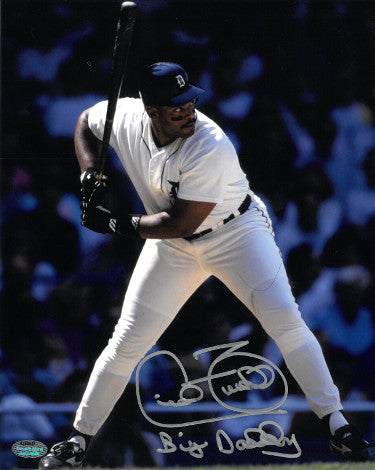 Cecil Fielder signed Detroit Tigers 8X10 Photo Big Daddy- Schwartz Hologram PSM-Powers Sports Memorabilia