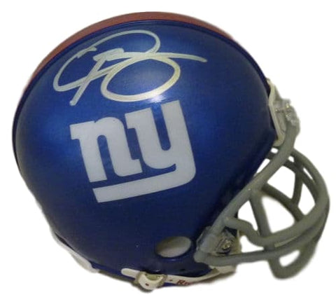Odell Beckham Jr Autographed New York Giants Mini Helmet w/JSA-Powers Sports Memorabilia