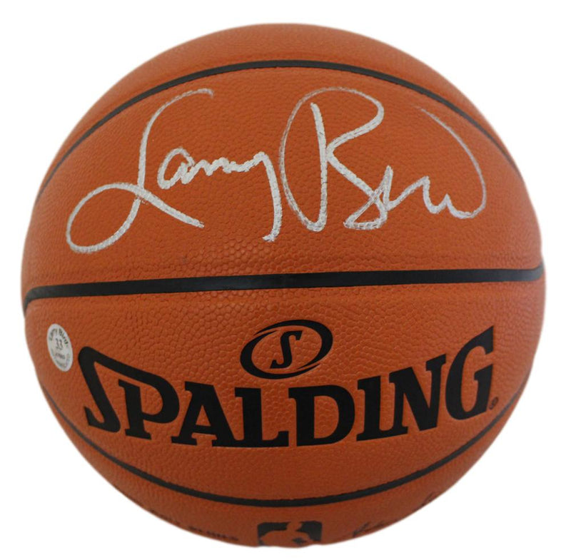 Larry Bird Autographed/Signed Boston Celtics Spalding Basketball PSM-Powers Sports Memorabilia