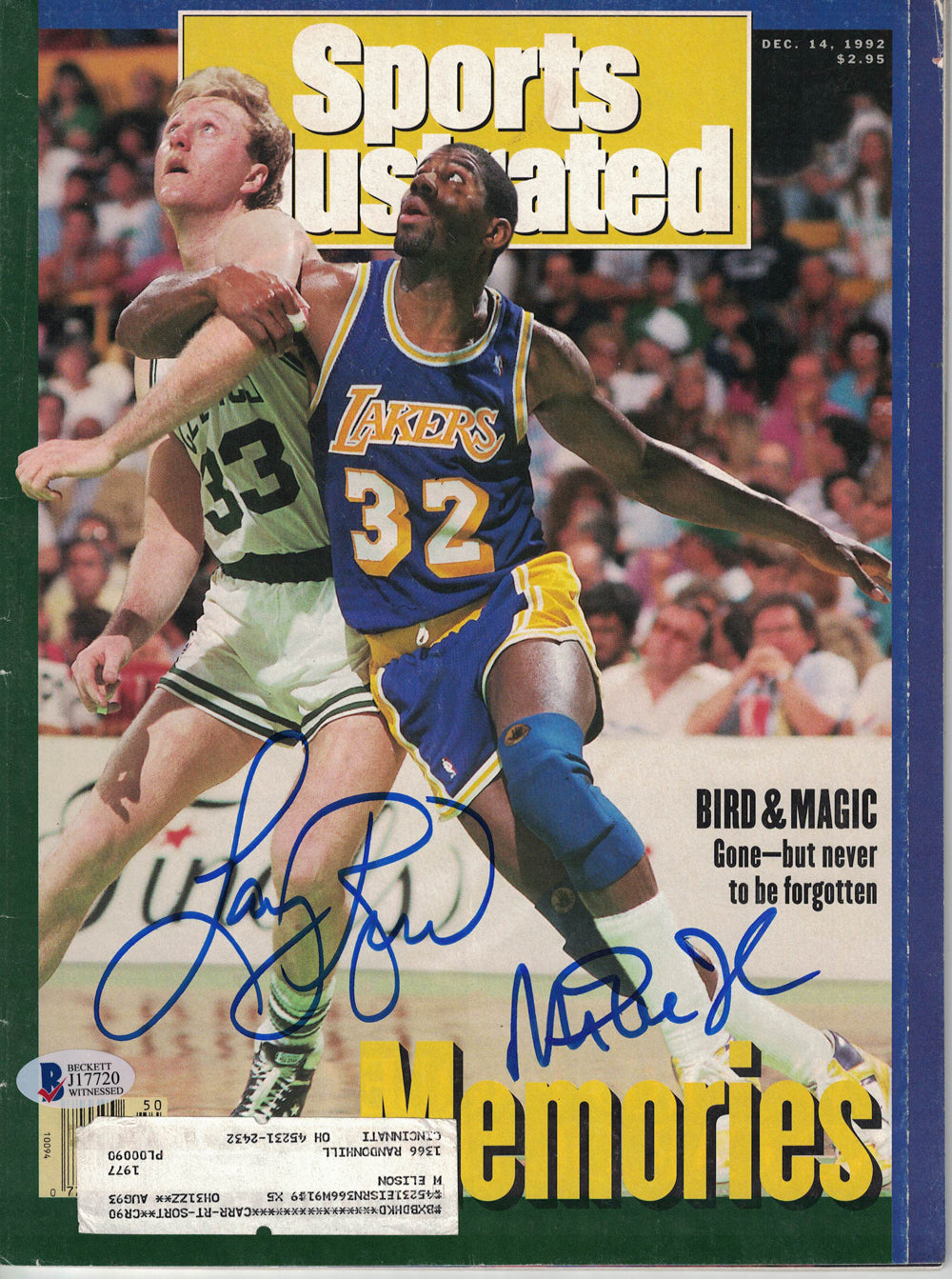 Signed Basketball Magazines