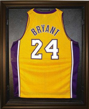 Basketball Jersey Deluxe Full Size Display Case Black PSM-Powers Sports Memorabilia