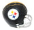 Terry Bradshaw Autographed Pittsburgh Steelers 2 Bar Mini Helmet JSA PSM-Powers Sports Memorabilia