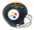 Terry Bradshaw Autographed Pittsburgh Steelers 2 Bar Mini Helmet HOF JSA PSM-Powers Sports Memorabilia