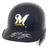 Ryan Braun Autographed/Signed Milwaukee Brewers Mini Batting Helmet JSA PSM-Powers Sports Memorabilia