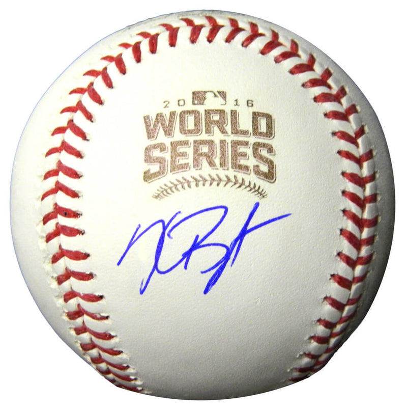 Kris Bryant Signed Rawlings Official 2016 World Series Baseball PSM-Powers Sports Memorabilia