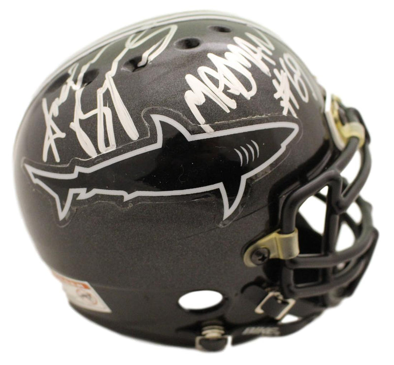 Andrew Bryniarski Autographed Any Given Sunday Authentic Sharks Mini Helmet Madman JSA PSM-Powers Sports Memorabilia