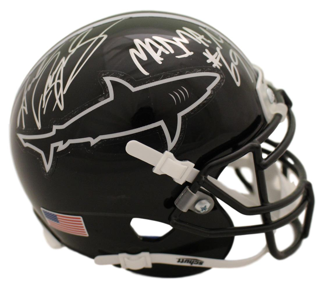 Andrew Bryniarski Autographed Any Given Sunday Sharks Mini Helmet Madman JSA PSM-Powers Sports Memorabilia