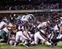 Correll Buckhalter Autographed Philadelphia Eagles 8x10 Photo PSM-Powers Sports Memorabilia