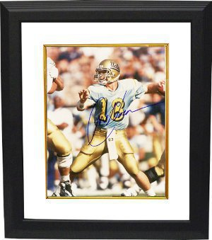 Cade McNown signed UCLA Bruins 8x10 Photo Custom Framing PSM-Powers Sports Memorabilia