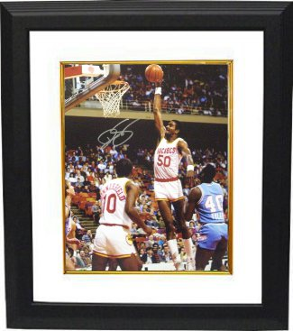 Ralph Sampson signed Houston Rockets 16x20 Photo Custom Framing PSM-Powers Sports Memorabilia