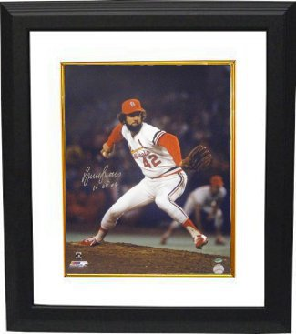 Bruce Sutter signed St. Louis Cardinals 16x20 Photo Custom Framed HOF 06 (1982 World Series) PSM-Powers Sports Memorabilia