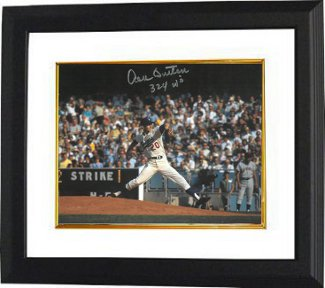 Don Sutton signed Los Angeles Dodgers 8x10 Photo Custom Framed 324 W's (Wins) PSM-Powers Sports Memorabilia