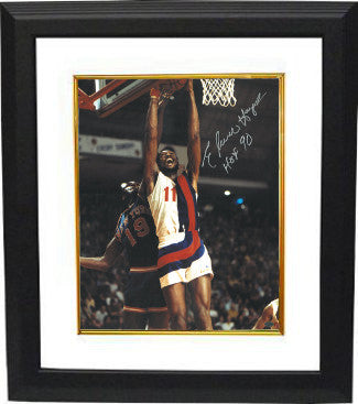 Elvin Hayes signed Washington Bullets 16X20 Photo Custom Framed HOF 90 PSM-Powers Sports Memorabilia