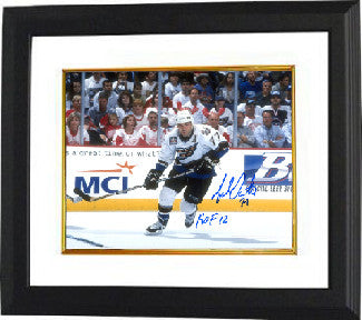 Adam Oates signed Washington Capitals 8x10 Photo Custom Framing w/ HOF 12- Tri-Star Hologram PSM-Powers Sports Memorabilia