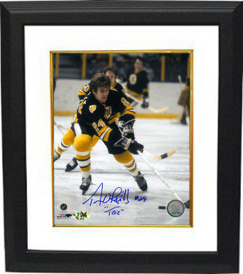 9cdfd11d376 Terry O Reilly signed Boston Bruins Color 8X10 Photo Custom Framed