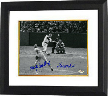 Bernie Carbo signed Boston Red Sox 8x10 Photo Custom Framed 1975 World Series Game 6 Homerun w/Rawly Eastwick PSM