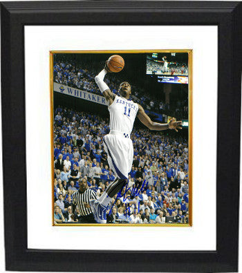 John Wall signed Kentucky Wildcats 8x10 Photo w/ #11 Custom Framed - BAS-Beckett Hologram PSM-Powers Sports Memorabilia