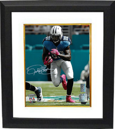 Derrick Henry signed Tennessee Titans 8x10 Photo Custom Framing - Henry & Tri-Star Holograms PSM-Powers Sports Memorabilia