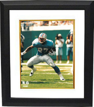 Eddie George Tennessee Titans/Oilers 8x10 Photo Custom Framing PSM-Powers Sports Memorabilia
