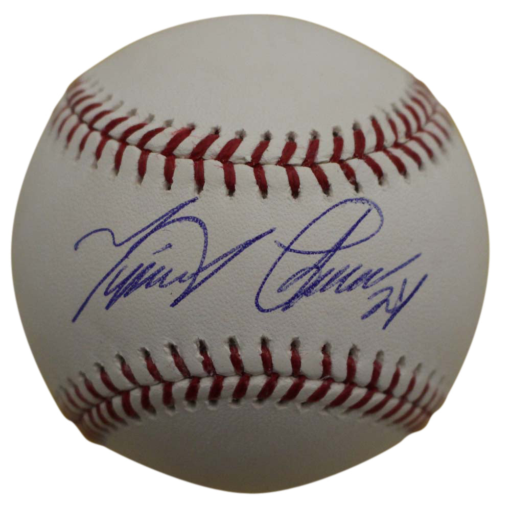 Miguel Cabrera Autographed/Signed Detroit Tigers OML Baseball JSA PSM-Powers Sports Memorabilia