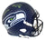 LJ Collier Autographed Seattle Seahawks Speed Replica Helmet Go Hawks JSA PSM-Powers Sports Memorabilia