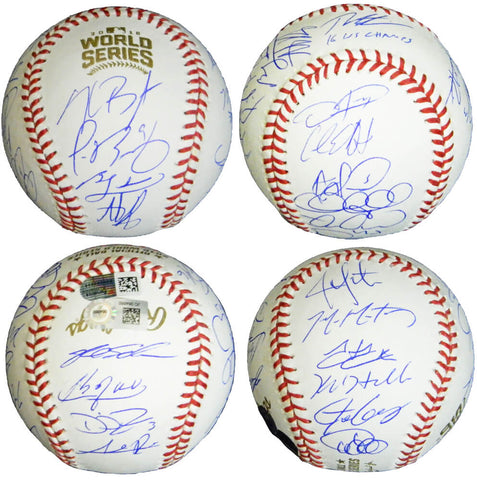 2016 Chicago Cubs Team Signed Rawlings Official 2016 World Series Baseball w/16 WS Champs (22 Sigs) PSM-Powers Sports Memorabilia