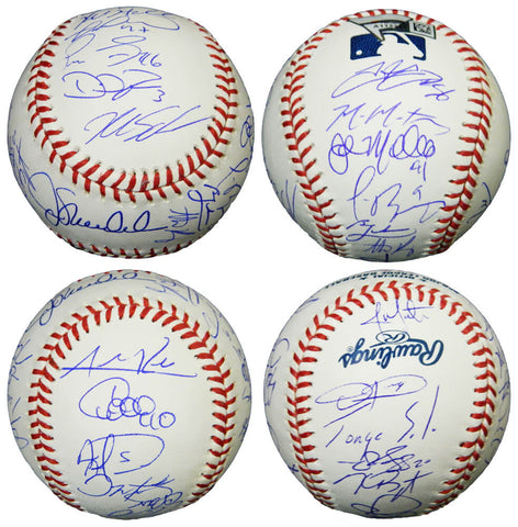 2016 Chicago Cubs Team Signed Rawlings Official MLB Baseball (24 Sigs) PSM-Powers Sports Memorabilia