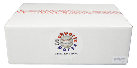 Chicago Cubs 2016 World Champs Mystery Autograph & Collectibles Gift Box - Series 2 (Limited to 250) SSM COA